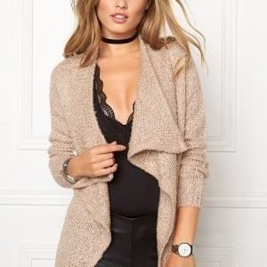 Jacqueline de Yong Gaby l/b button cardigan Moonnlight