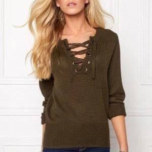 Jacqueline de Yong Gigi L/S Pullover Wren