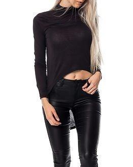 Jacqueline de Yong Laura High/Low Tunnelneck Top Black