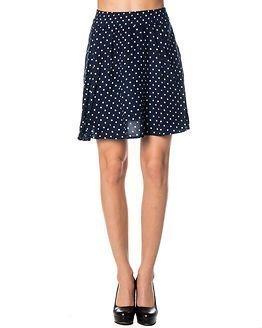 Jacqueline de Yong Livono Knee Skirt Mood Indigo