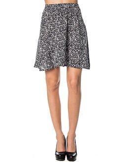 Jacqueline de Yong Livono Knee Skirt Tiny Flower