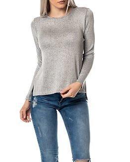 Jacqueline de Yong Luc Top Light Grey Melange