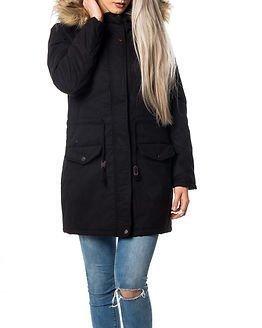 Jacqueline de Yong Mandy Parka Jacket Black