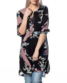 Jacqueline de Yong Orchid Tunic Cloud Black