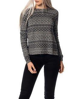 Jacqueline de Yong Peachpit Zip Pullover Black