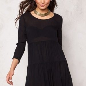 Jacqueline de Yong Piper 3/4 Dress Black