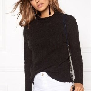 Jacqueline de Yong Raven highneck pullover Black