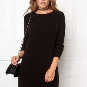 Jacqueline de Yong Raven l/s dress Black