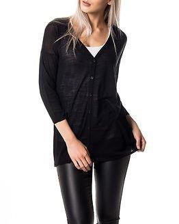 Jacqueline de Yong Rose 3/4 Cardigan Knit Black