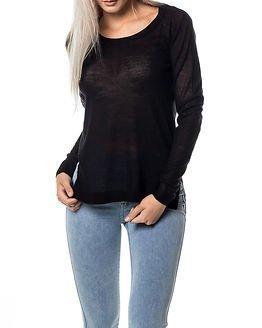 Jacqueline de Yong Rose Pullover Knit Black
