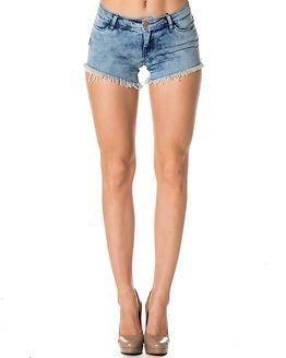 Jacqueline de Yong Roy Denim Shorts Light Blue Denim