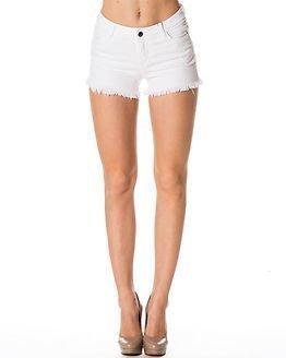 Jacqueline de Yong Roy Denim Shorts White