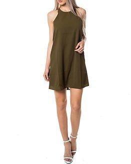 Jacqueline de Yong Rusty Dress Dark Olive