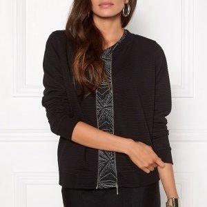 Jacqueline de Yong Sax L/S Bomber Black