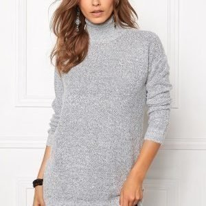 Jacqueline de Yong Stark ls long pullover Light grey melange