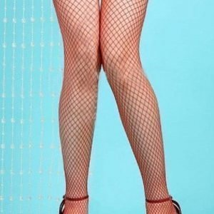 Janine punaiset verkkosukat