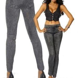 Jeans Leggings Svart