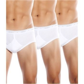 Jockey Classic Y-front Brief White 3 pakkaus
