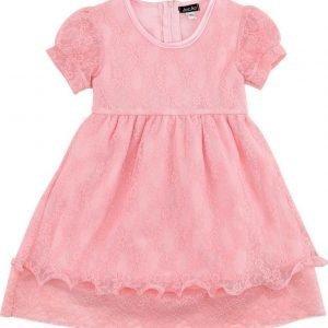 Jocko Vauvanmekko Pitsi Luonnonvalkoinen Pink