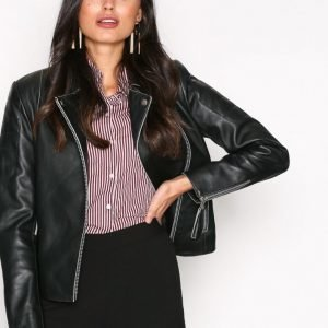 Jofama Ruth Jacket Nahkatakki Black