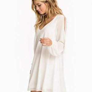 John Zack Open Split Sleeve Chiffon Dress Khaki