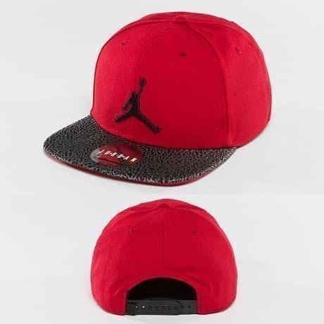 Jordan Snapback Lippis Punainen