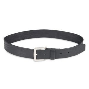 Journal Objects Ltd Charlie Leather Belt Black