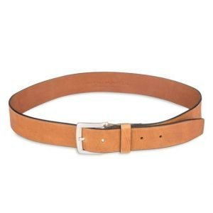 Journal Objects Ltd Charlie Leather Belt Cognac