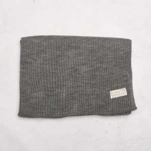 Journal Objects Ltd John Rib Scarf Grey Melange