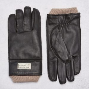 Journal Objects Ltd Maurice Leather Gloves Brown