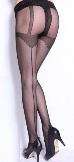 Julie mustat sukkahousut