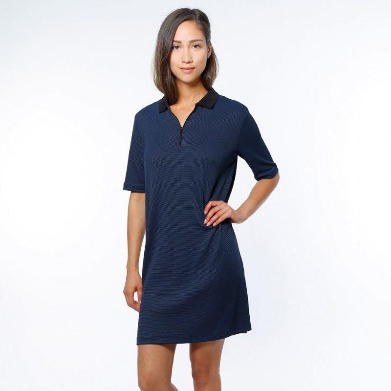Junkyard Q Polo Dress -mekko