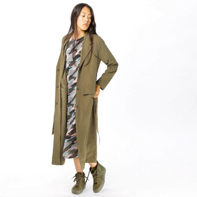 Junkyard South Long Coat -takki