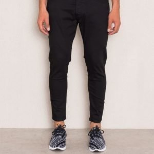 Just Junkies Tommy Crop 001 Black