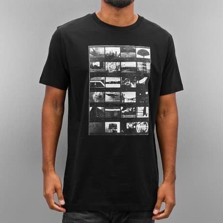 K1X T-paita Musta
