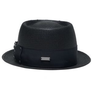 Kangol Bar Porkpie Black