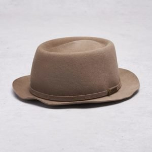 Kangol Staple Pork Pie Morel