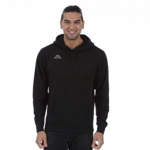 Kappa Zyllow Sweat Hood Collegepaita Musta