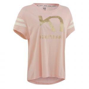 Kari Traa T-Paita Vilde Tee Vaaleanpunainen
