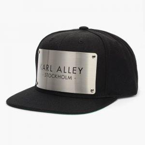 Karl Alley Stockholm Black Snapback