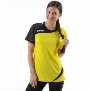 Kempa Circle Shirt Treenipaita Keltainen / Musta