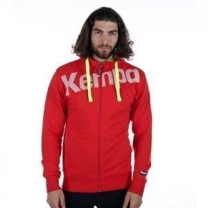 Kempa Core Hoody Jacket Vetoketjuhuppari Punainen
