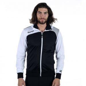 Kempa Emotion Hood Jacket Vetoketjuhuppari Musta / Valkoinen