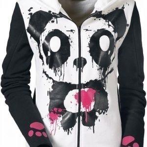 Killer Panda Mase Hood Naisten Vetoketjuhuppari