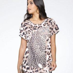 Kim Kara Paita Ruskea / Leopardi