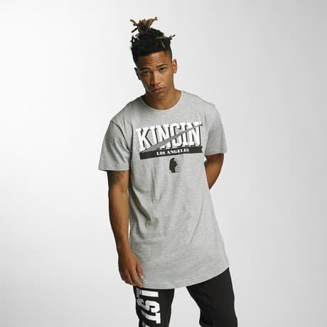 Kingin T-paita Harmaa