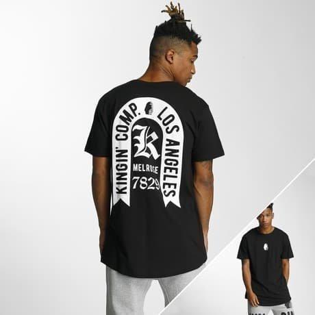 Kingin T-paita Musta