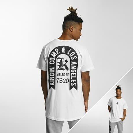 Kingin T-paita Valkoinen