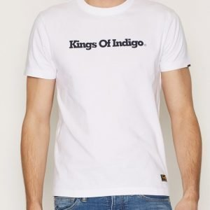 Kings of Indigo Darius T-paita White
