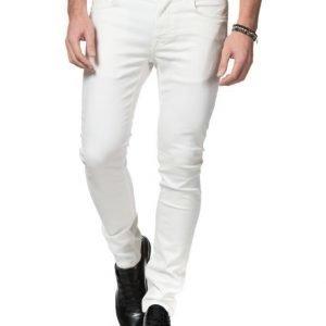 Knowledge Cotton Apparel 5 Pocket 1010 White